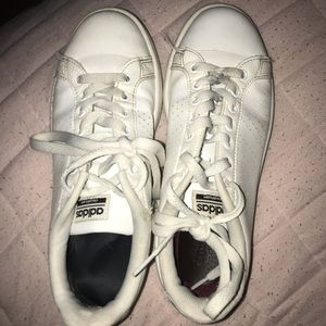 Worn Adidas Sneakers (Can be easily washed)